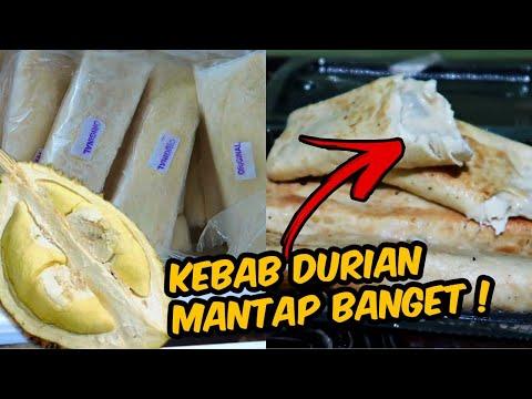 kebab-durian-medan,-isinya-sampe-luberrr---pencinta-durian-wajib-coba-!-indonesian-street-food