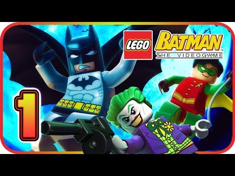 LEGO Batman: The Videogame Walkthrough Part 1 (PS3, PS2 ...