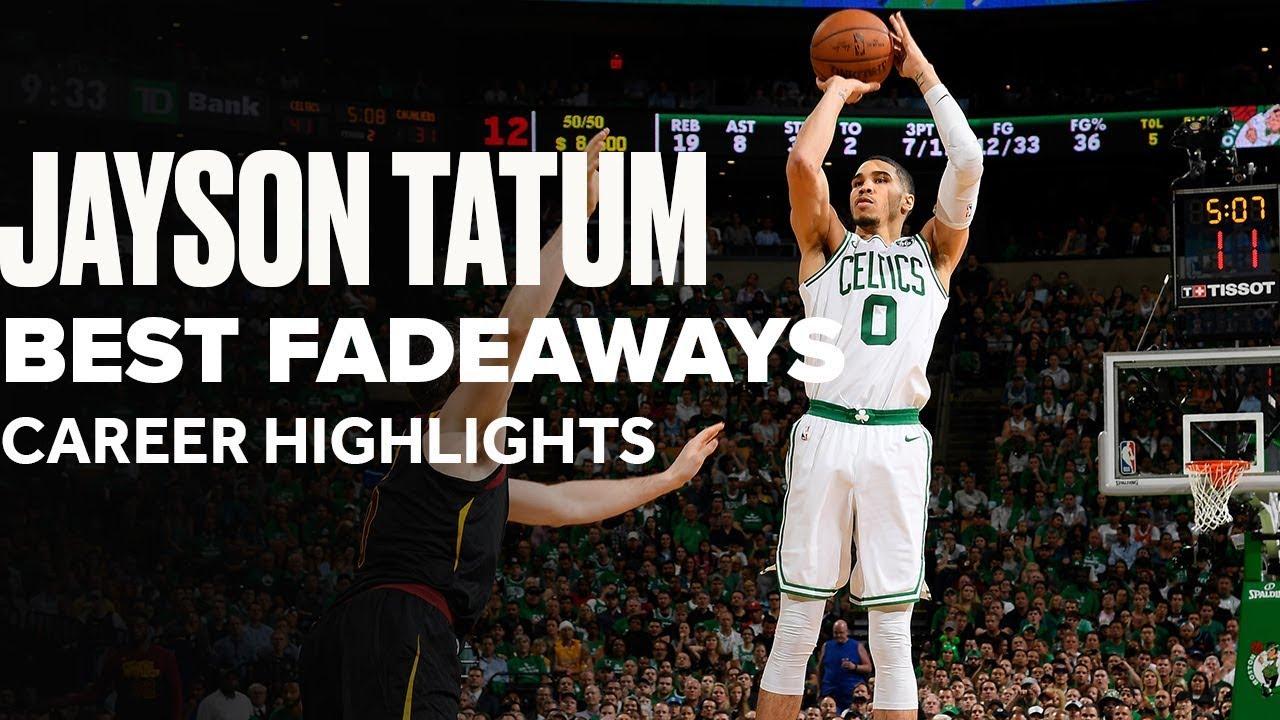 Jayson Tatum's Best Career Fadeaways   B/R Countdown