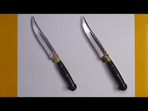 Hangisi Çizim? | 3 Boyutlu Bıçak Çizimi
