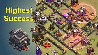 Most Reliable TH9 War Attack Strategy - QW/CB LaLoon