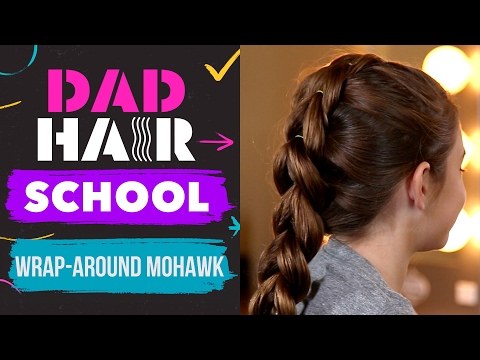 Phil Morgeses Wrap-Around Mohawk Hair Tutorial | Dad Hair School by Babble