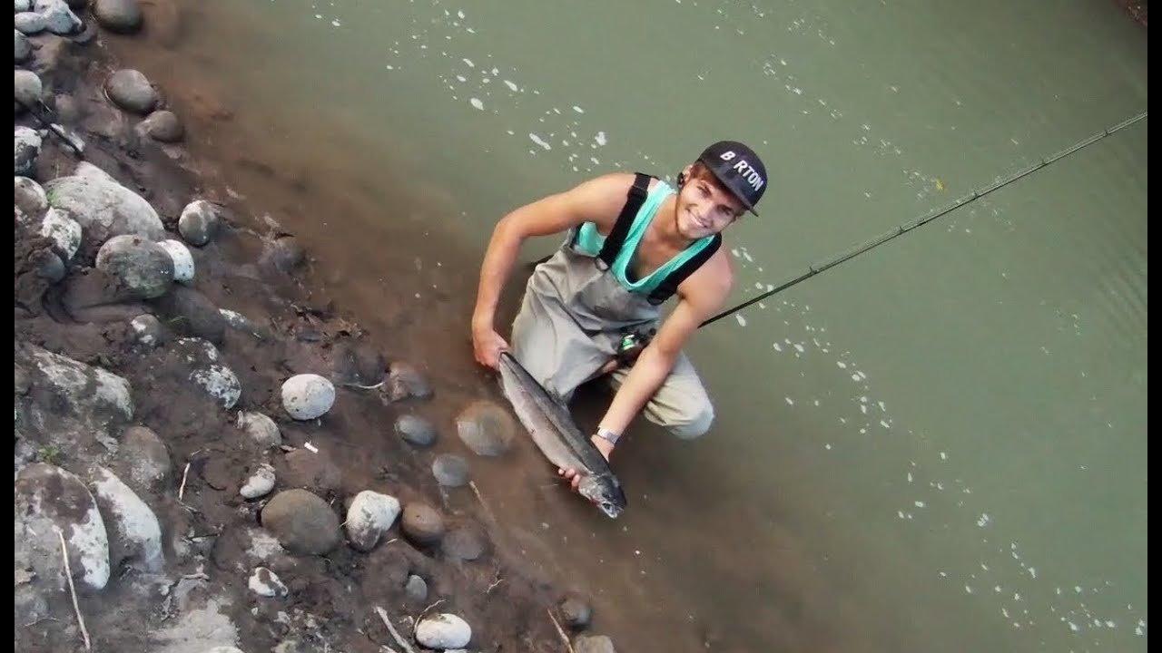 How to salmon fish salmon fishing on sandy river fishing for Sandy river fishing