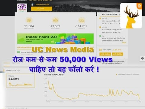 How to Increase Daily at least 50,000 Views on UC NEWS Media Post