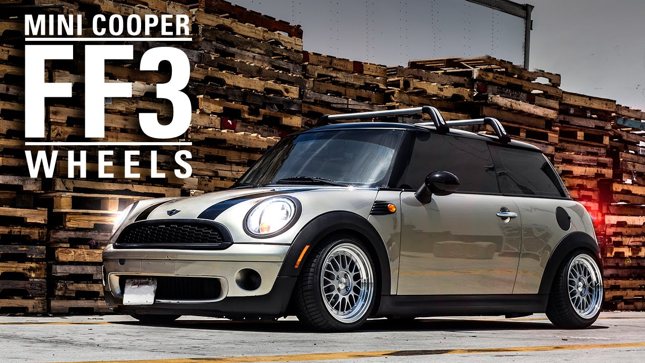 Mini Cooper Wheels >> MRR FF3 Wheel - Mini Cooper - YouTube