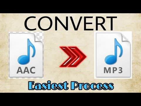 How To Convert AAC to mp3 file easily | how to change aac to mp3 format | Be Tech UTuber