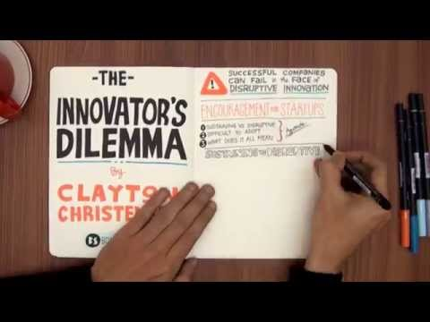 """The Innovator's Dilemma"" by Clayton Christensen - VIDEO BOOK SUMMARY"