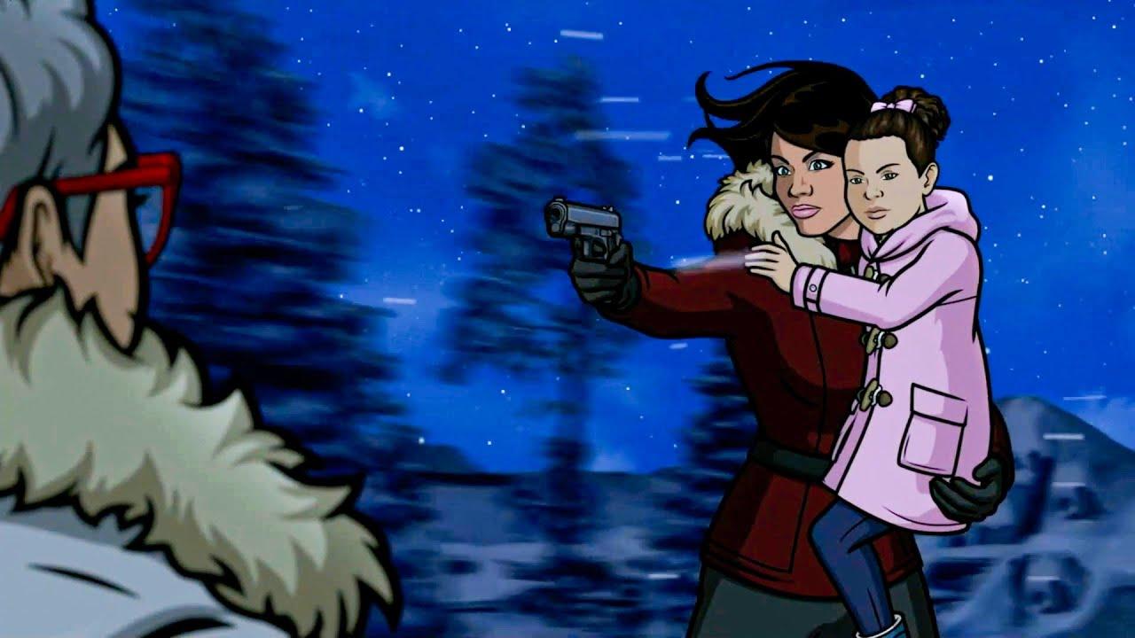 Download Archer & Lana Save Their Daughter Aj - Archer 11x07
