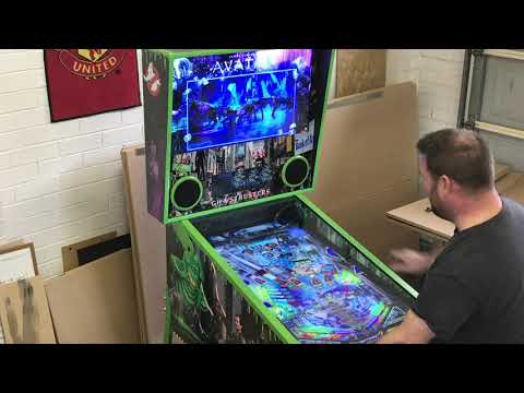 Ghostbusters Slimer Virtual Pinball Machine (4K) with Pinscape, Pinup Player, Pinball X