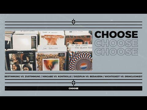 I choose -