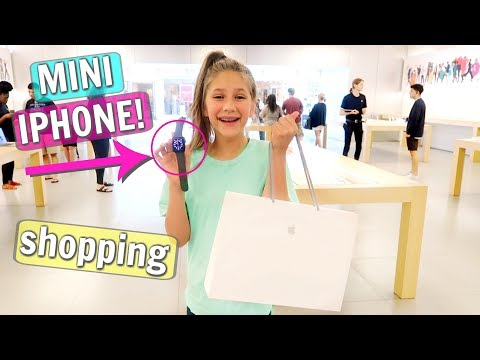 Shopping for a New Apple Watch Unboxing! Mini iPhone Shopping Vlog!