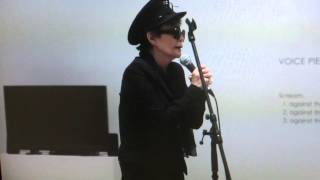 Yoko Ono 「VOICE PIECE FOR SOPRANO」 9th Nov.2015 Museum of Contemporary Art, Tokyo