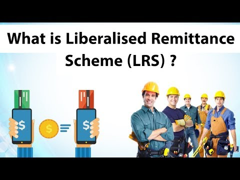 What is Liberalised Remittance Scheme (LRS) ? What is the forex limit for private foreign visit?