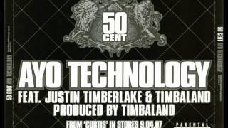 50 Cent - Ayo Technology Feat. Justin Timberlake & Timbaland (Instrumental)