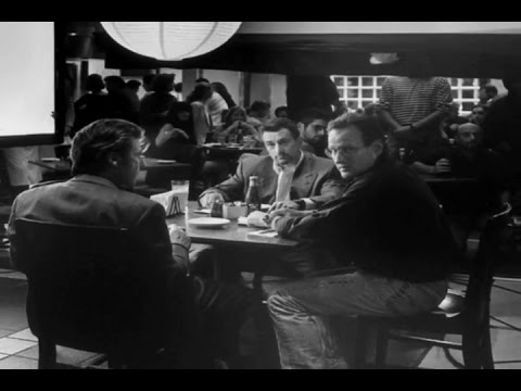 Al Pacino vs Robert De Niro - Behind the Restaurant Scene from Heat