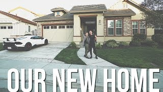 OUR NEW HOME! FULL HOUSE TOUR!