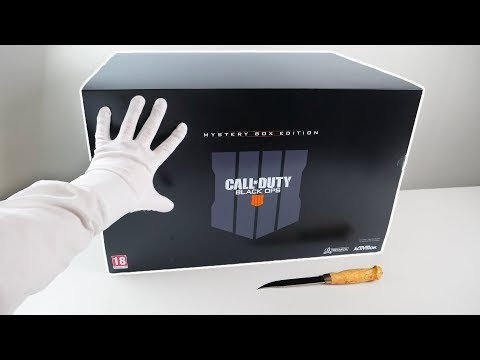 The Mystery Box Edition Unboxing - Call of Duty Black Ops 4 Zombies Collector's Edition