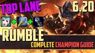 Rumble: Being an Effective Top Lane Teamfighter - Leauge of Legends Champion Guide