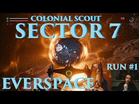 EVERSPACE - Colonial Scout - Complete - Run #1 - Tough litte bugger