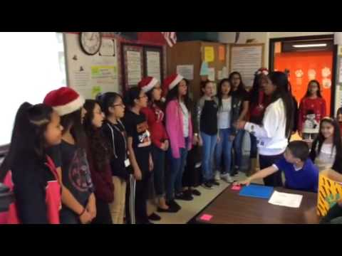Jingle bells Haltom middle school