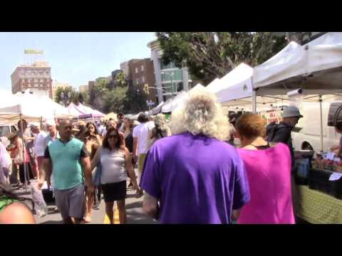 Hollywood Farmers' Market, Los Angeles, California, Sunday, June 18, 2017