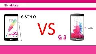 lg g stylo vs lg g3 t mobile
