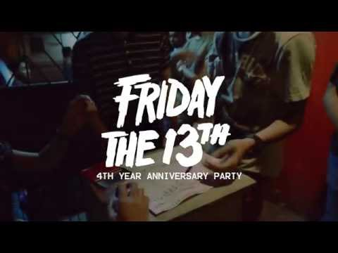 Friday the 13th | BOOM! Clothing Anniversary