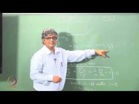 Mod 1_Week 1_Lec 1.2_Flow in a rectangular duct: Problem for