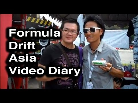 Behind the Smoke 2 - Ep 7 Formula D Asia - Malaysia Video Diary - Dai Yoshihara 2012