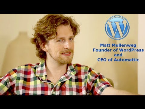 Matt Mullenweg; Founder of WordPress Shares Everything