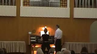 T.Orlova(organ).Thomas Adams. Overture c -moll.