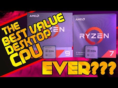 AMD Ryzen 7 3700X & Ryzen 9 3900X Review [BENCHMARKS]