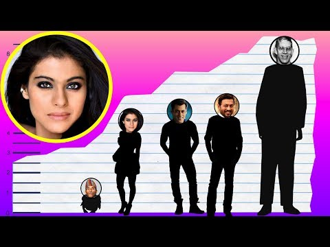 How Tall Is Kajol? - Height Comparison!