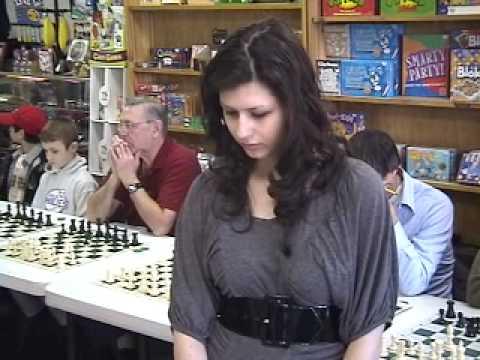 Alisa Melekhina Chess Simul at All The King's Men