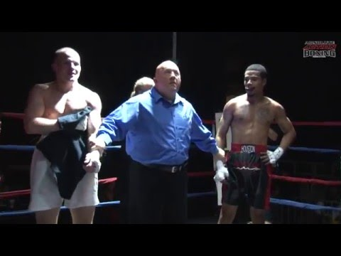 Marc McDonald Vs Terrell Houston From AABA's Boxing's Best