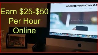 how to make money online working from home earn money online fast get paid daily