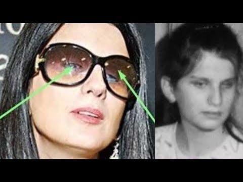 Диана Гурцкая впервые сняла очки на публику!!! - YouTube