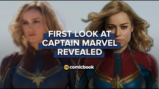 BREAKING: First Look at 'Captain Marvel' Revealed thumbnail