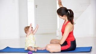 Упражнения после родов - укрепление мышц рук(Упражнения после родов - укрепление мышц рук, входит в комплекс упражнений после родов. Это даже можно назва..., 2015-07-02T12:42:06.000Z)