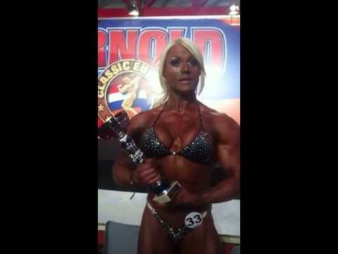 Lisa Cross - Arnold Classic Europe 2013