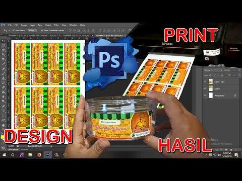 Cara Membuat Stiker Dengan Photoshop.