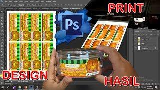 Cara Mencetak Stiker Label Makanan Sendiri Dengan Printer