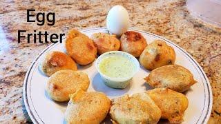 Egg Fritter - Anda Pakoda - Egg Bonda