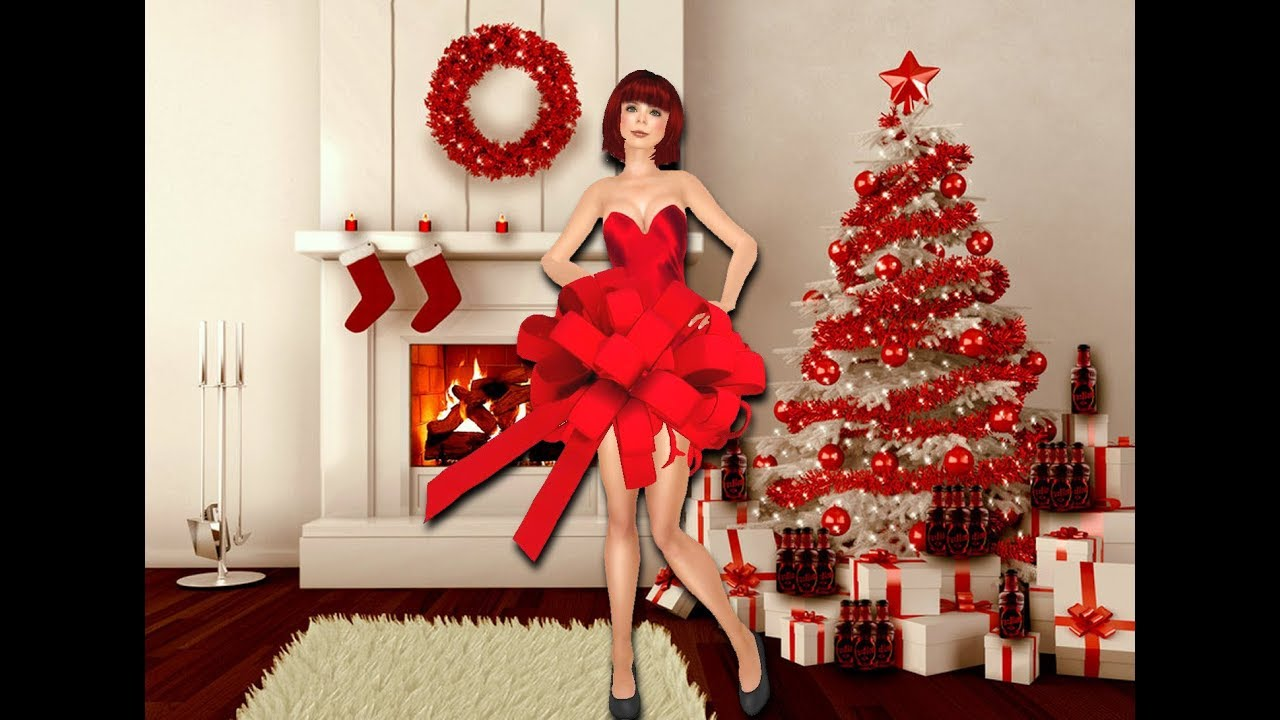 christmas tree decorating ideas red and silver