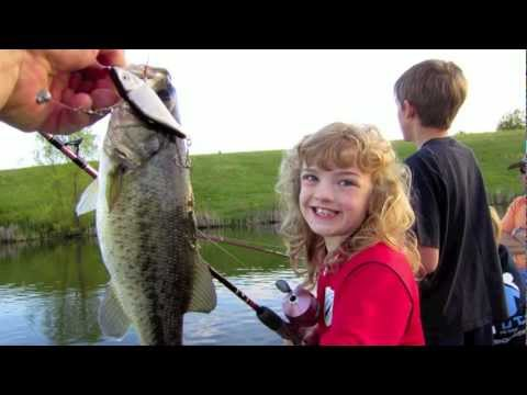 Kids bass fishing in Perryville, KY farm pond - it's all about the lifestyle