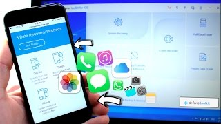 Recover Deleted Pictures, Text Messages, Call history & more iPhone, iPad
