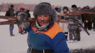 ЗИМНЯЯ РЫБАЛКА и ЯКУТСКИЙ НОЖ своими руками. Якутия, первые морозы в году. Путешествие в Якутск.