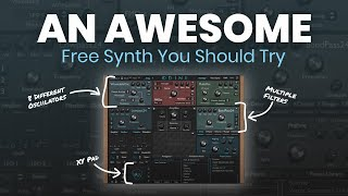 One Of The BEST Free Synth VST Plugins 🎹 | Odin II Synth Demo