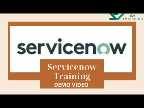 Service now Administrator Training | Servicenow Training in Hyderabad | Servicenow Training Videos