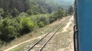 Narrow gauge journey Velingrad-Avramovo (BULGARIA)